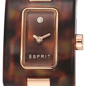 Esprit Dress Es106492004 Kello Ruskea / Punakultasävyinen