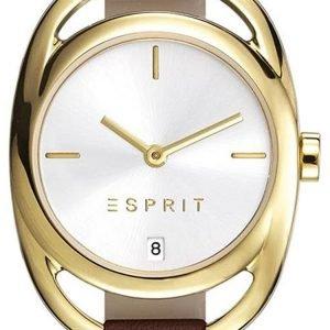 Esprit Dress Es108182002 Kello Hopea / Nahka
