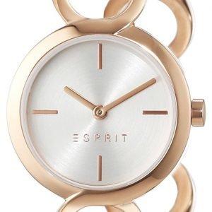 Esprit Dress Es108212003 Kello Hopea / Punakultasävyinen
