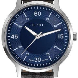 Esprit Dress Es108271006 Kello Sininen / Tekstiili