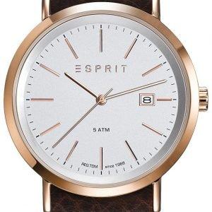 Esprit Dress Es108361010 Kello Hopea / Nahka