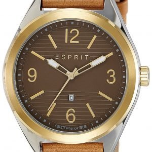 Esprit Dress Es108371002 Kello Ruskea / Nahka