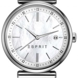 Esprit Dress Es108542002 Kello Valkoinen / Nahka