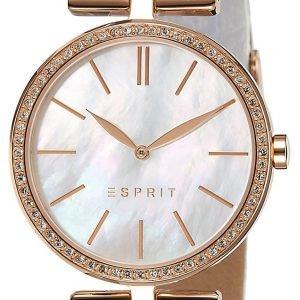 Esprit Dress Es109112002 Kello Valkoinen / Nahka