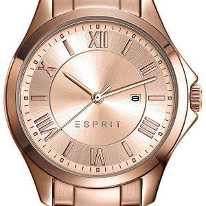 Esprit Dress Es109262002 Kello Punakultaa / Punakultasävyinen