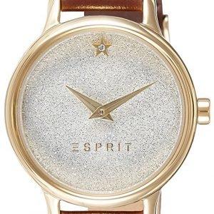 Esprit Dress Es109282002 Kello Hopea / Nahka