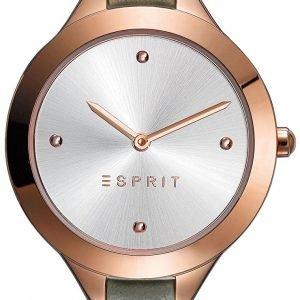 Esprit Dress Es109392005 Kello Hopea / Nahka