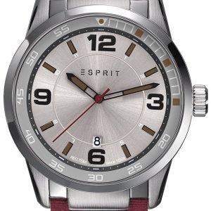 Esprit Dress Es109441001 Kello Hopea / Nahka