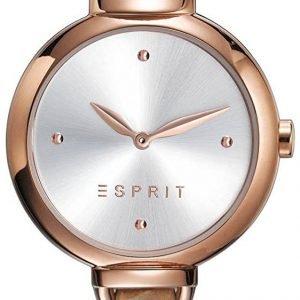 Esprit Dress Es109522002 Kello Hopea / Nahka