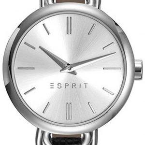 Esprit Dress Es109542001 Kello Hopea / Nahka
