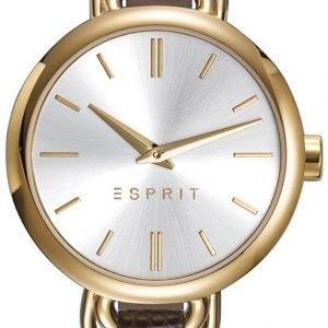Esprit Dress Es109542002 Kello Hopea / Nahka