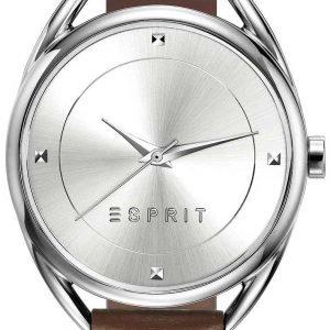 Esprit Dress Es906552002 Kello Hopea / Nahka