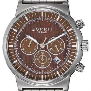 Esprit Sport Es106851005 Kello Ruskea / Teräs