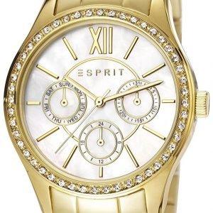 Esprit Sport Es107782002 Kello Valkoinen / Kullansävytetty