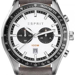 Esprit Sport Es108241001 Kello Hopea / Nahka