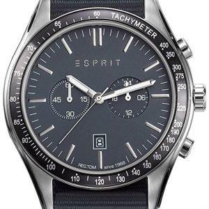 Esprit Sport Es108241008 Kello Sininen / Tekstiili