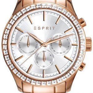 Esprit Sport Es109042003 Kello Hopea / Punakultasävyinen