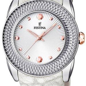 Festina Classic F16591-A Kello Hopea / Nahka