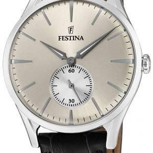 Festina Classic F16979-2 Kello Hopea / Nahka