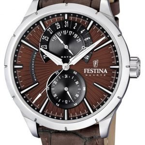 Festina Dress F16573-6 Kello Ruskea / Nahka