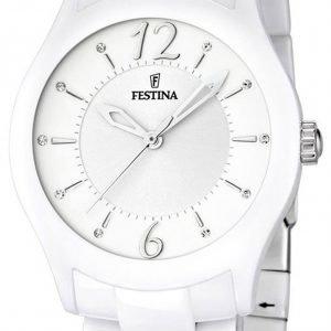 Festina Dress F16638-1 Kello Valkoinen / Keraaminen
