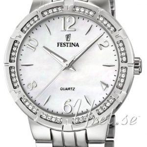 Festina Dress F16703-1 Kello Valkoinen / Teräs