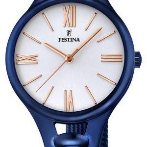 Festina Dress F16953-1 Kello Valkoinen / Teräs