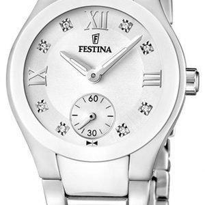 Festina F16588-2 Kello Valkoinen / Teräs