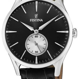 Festina F16979-4 Kello Musta / Nahka