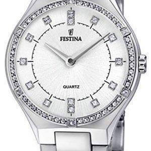 Festina F20225-1 Kello Valkoinen / Teräs