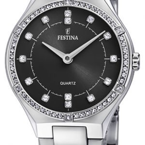 Festina F20225-2 Kello Musta / Teräs