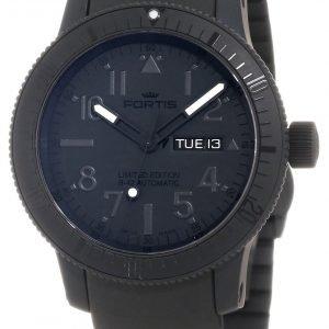 Fortis B-42 Black 647.28.81.K Kello Musta / Kumi