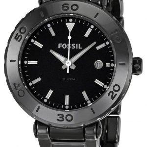 Fossil Allie Ce1029 Kello Musta / Keraaminen