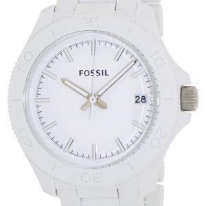 Fossil Am4447 Kello Valkoinen / Muovi