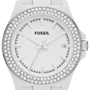 Fossil Am4466 Kello Valkoinen / Muovi