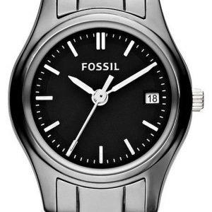 Fossil Archival Ce1073 Kello Musta / Teräs