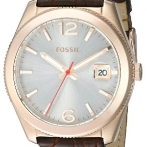 Fossil Boyfriend Es3770 Kello Hopea / Nahka