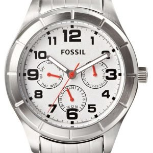 Fossil Bq1408 Kello Valkoinen / Teräs