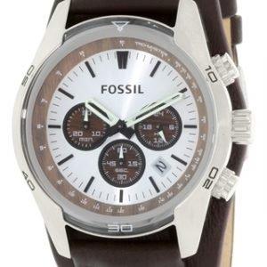 Fossil Casual Ch2565 Kello Hopea / Nahka