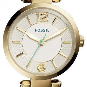 Fossil Casual Es4000 Kello Hopea / Nahka