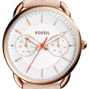 Fossil Casual Es4007 Kello Valkoinen / Nahka