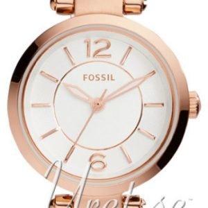 Fossil Casual Es4026 Kello Valkoinen / Nahka