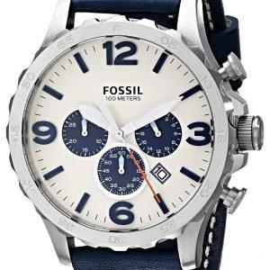 Fossil Casual Jr1480 Kello Valkoinen / Nahka
