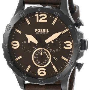 Fossil Casual Jr1487 Kello Ruskea / Nahka