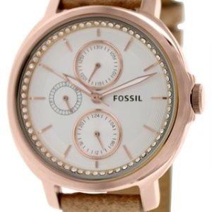 Fossil Chelsey Es3358 Kello Valkoinen / Nahka