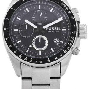 Fossil Decker Ch2600ie Kello Musta / Teräs