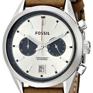 Fossil Del Rey Ch2952 Kello Valkoinen / Nahka