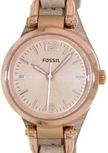 Fossil Dress Es3262 Kello Kulta / Nahka