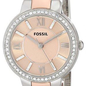Fossil Dress Es3405 Kello Pinkki / Punakultasävyinen