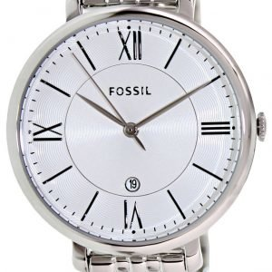 Fossil Dress Es3433 Kello Valkoinen / Teräs